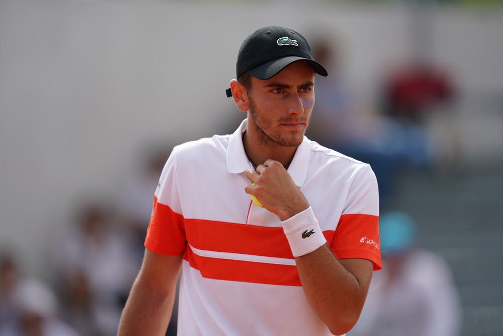 Interview de Eliott Benchetrit (Tennis)