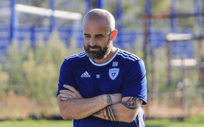 Interview de Mathieu Chabert (entraîneur du SC Bastia)