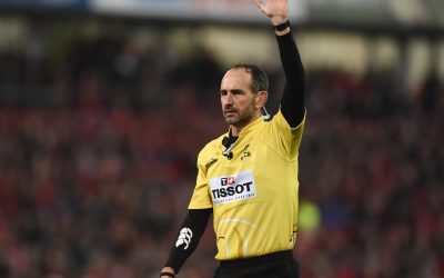 Interview de Romain Poite (arbitre rugby)